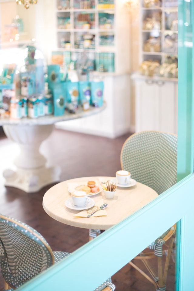 The cafe at Limegrove Lifestyle Centre