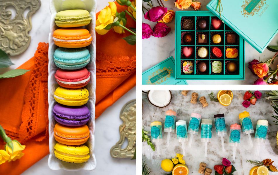 Green Monkey Catalog: Macarons, Chocolates, Candy, Gourmet Pops, Confitures and so on