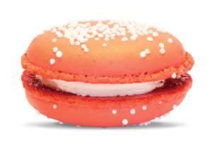 Gourmet Strawberry Macaron