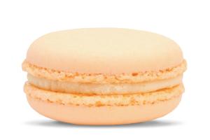 Orange Blossom macaron