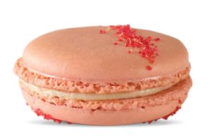 Raspberry Buttercream Macaron