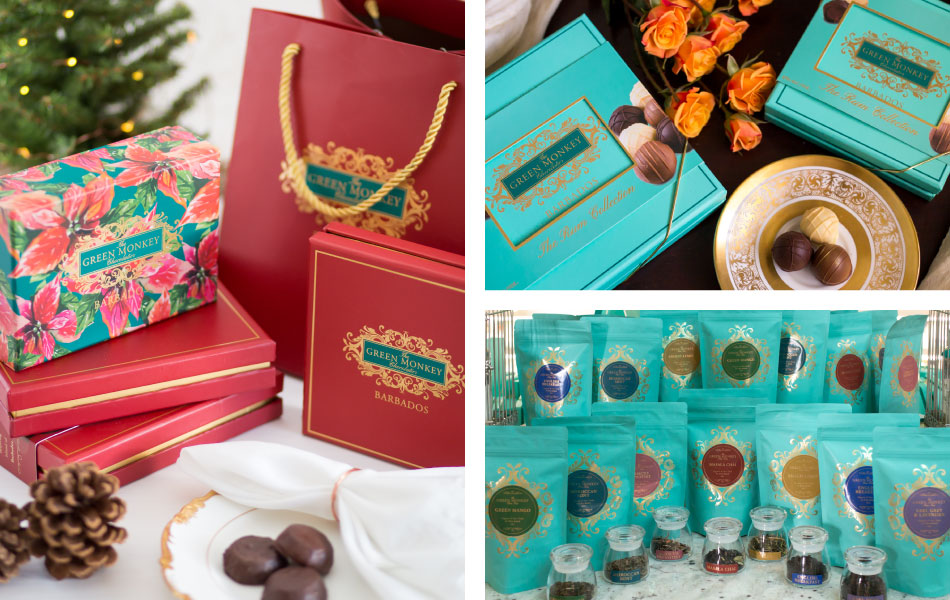 Christmas at The Green Monkey Chocolatier