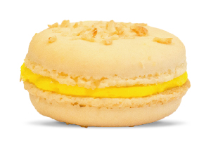 Pina Colada Macaron made in Barbados