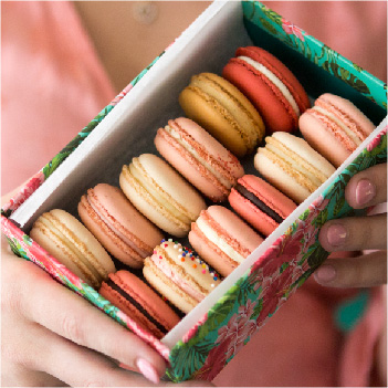 Twelve Macarons