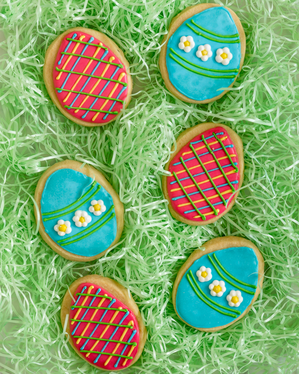 Easter Shortbread Cookies