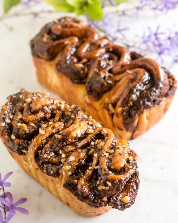 Milk Chocolate Hazelnut Brioche