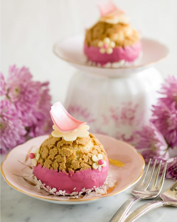 Strawberry Cream Puff