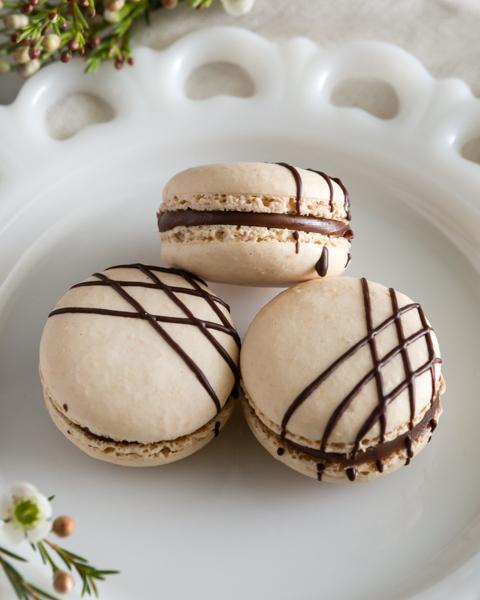Macaron of the month - Chocolate Baileys Tiramisu
