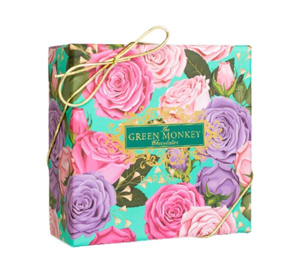 Rose Macaron Box