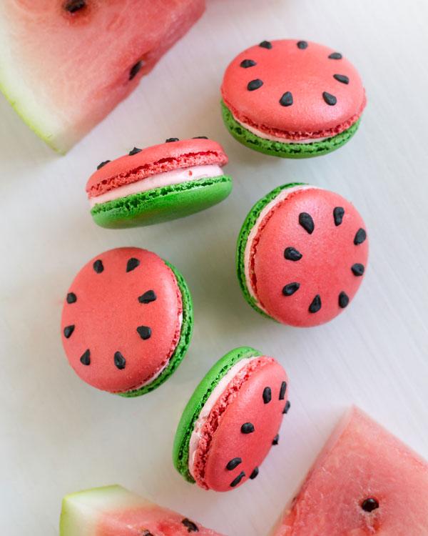Watermelon Sugar Macaron
